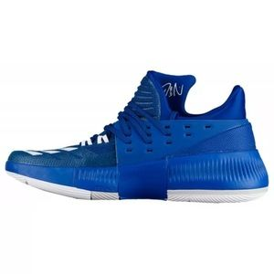 Adidas Dame 3 Men's Blue Basketball Shoes